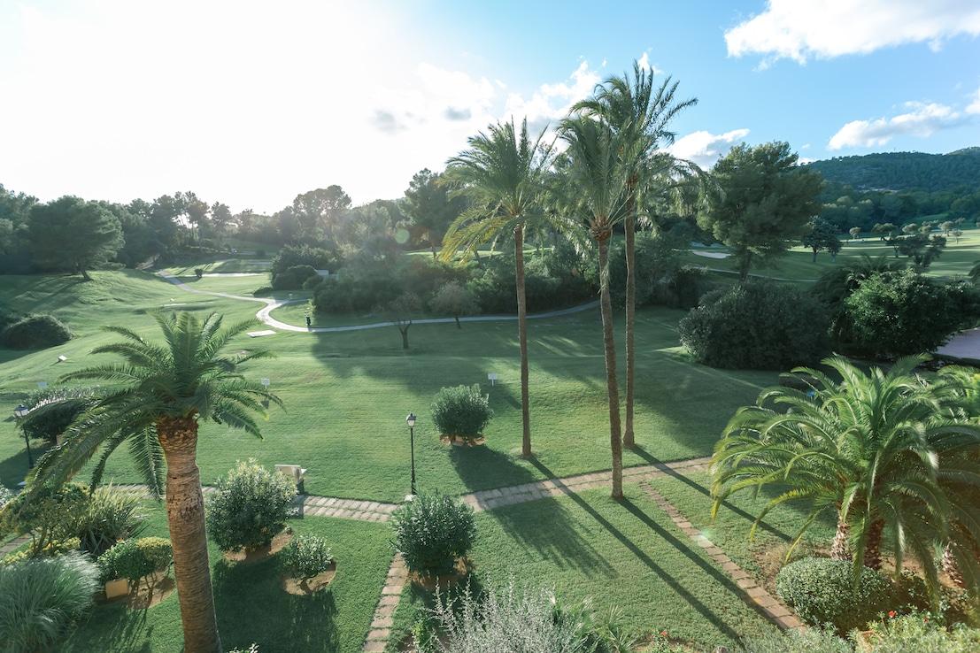 Schöner Blick in Bendinat Golf