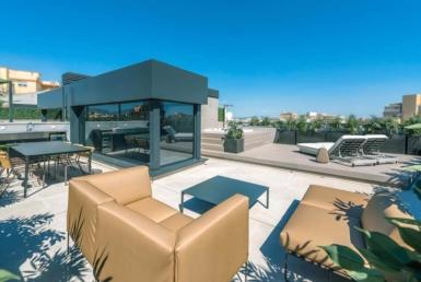 Luxus Penthouse mit Terrassen in Palma