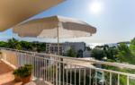 Terrasse mit Meerblick in Palmanova