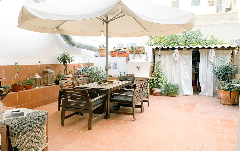 Terrasse in Santa Catalina