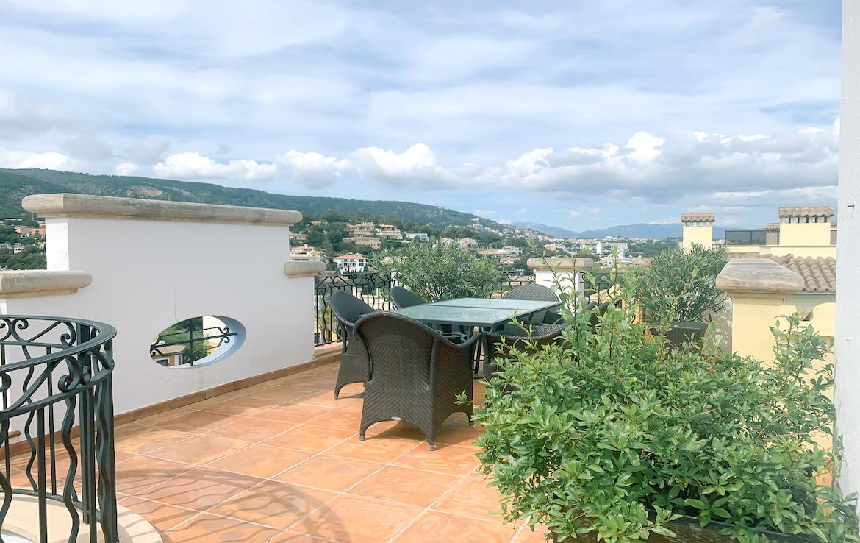 penthouse roof top terrace illetas